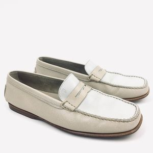 Tod's penny loafer leather flat driving gommini